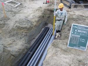 電線共同溝・無電柱化工事